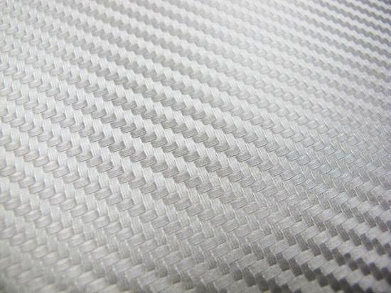Folia Carbonowa Silver 100x152 cm - GRUBYGARAGE - Sklep Tuningowy